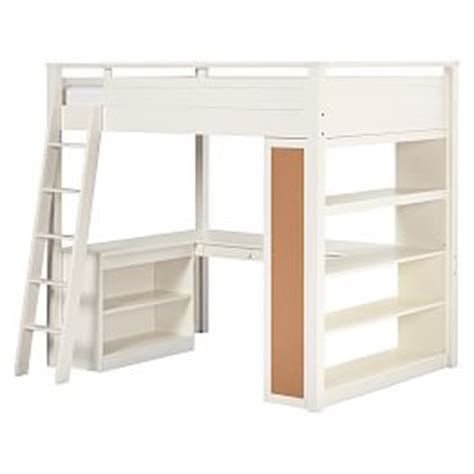 pottery barn loft bed with desk bunk beds loft beds pbteen