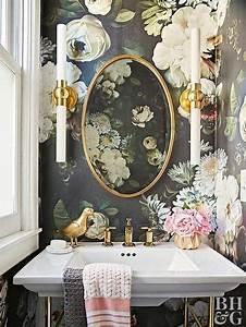 Tapete Für Badezimmer : 9 verr ckte tapeten ideen f r euer badezimmer alles was du brauchst um dein haus in ein ~ Watch28wear.com Haus und Dekorationen