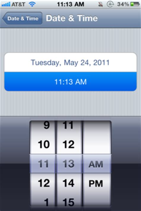 how to set time on iphone daily tip how to manually set or reset your iphone