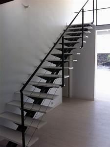 Escalier Metal Et Bois : atelier d 39 architecture ban gas villas villa 403 ~ Dailycaller-alerts.com Idées de Décoration