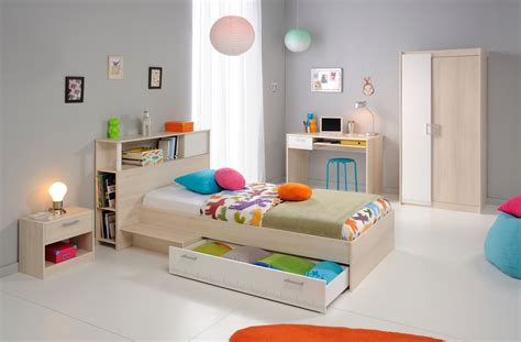 chambre acacia chambre enfant contemporaine acacia blanc comix iii