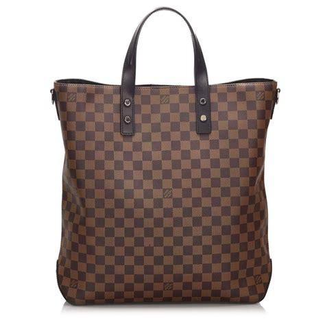 louis vuitton vintage damier savane atlas chapman brothers zebra bag brown leather handbag