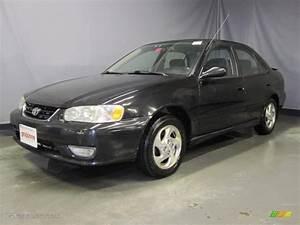 Toyota Corolla 2002 : 2002 black sand pearl toyota corolla s 27850798 car color galleries ~ Medecine-chirurgie-esthetiques.com Avis de Voitures