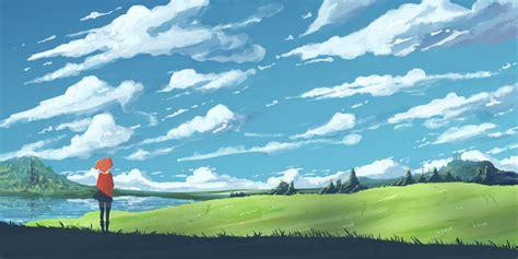 anime aesthetic scenery wallpapers