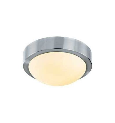 brushed chrome ceiling light