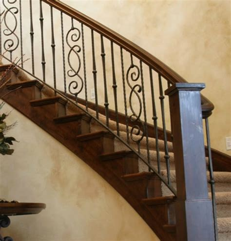 iron banisters and railings iron stair railing home ideas design iron