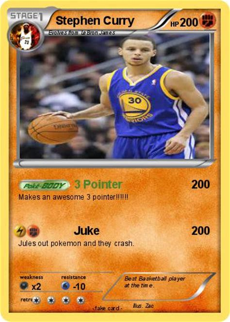 Check spelling or type a new query. Pokémon Stephen Curry 95 95 - 3 Pointer - My Pokemon Card