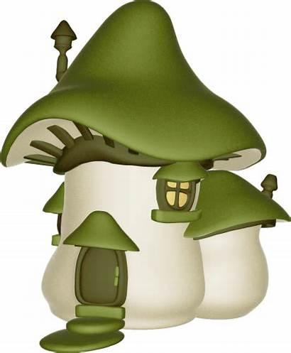 Mushroom Fairy Clipart Gnome Mushrooms Purple Toadstools