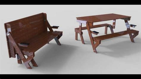 Banc Et Table Youtube