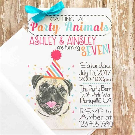gallery photo gallery photo pet party invitations gallery