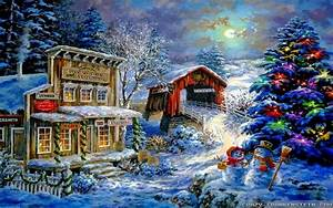 Old, Fashioned, Christmas, Wallpaper, 38, Images