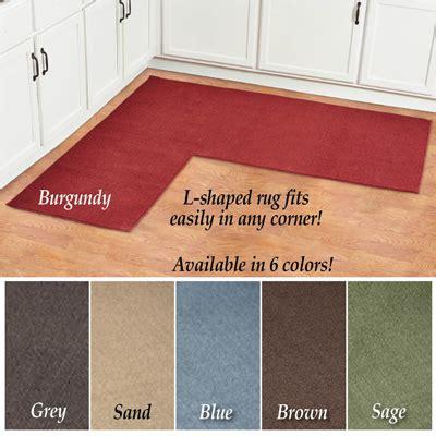 corner sink floor mat l shaped berber corner rug runner from collections etc
