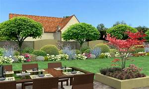 Cloture De Jardin : cloture jardin 3d ~ Premium-room.com Idées de Décoration