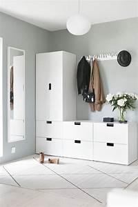 meuble pratique pour l39entree de la maison http wwwm With meubles pour petits espaces 18 meuble rangement enfant ikea stuva