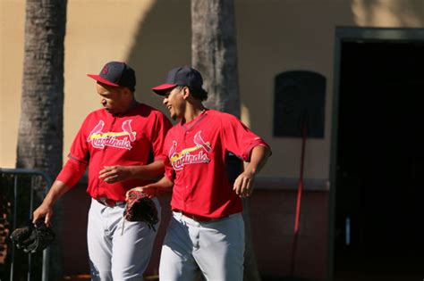 la russa visits cardinals spring training gallery