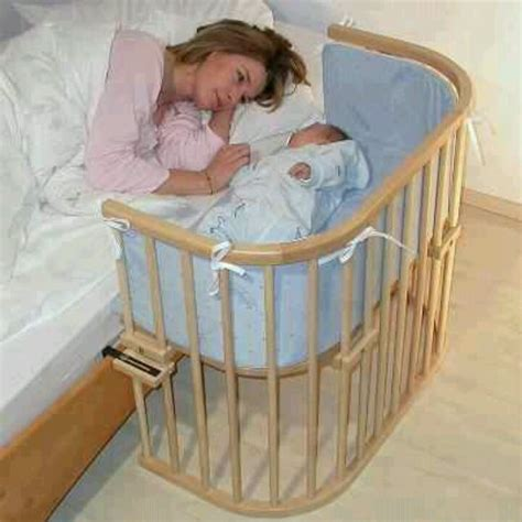 crib connected to mommys bed neet ideas pinterest
