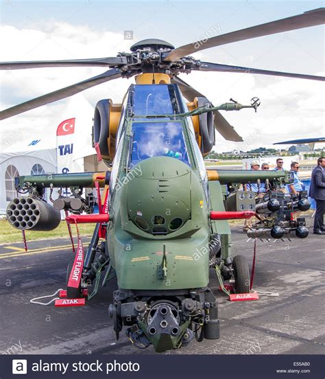 Turkish Aerospace Industries T129 Atak Helicopter At