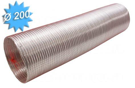 gaine alu semi rigide diam 232 tre 200 mm longueur de 3 m 232 tres