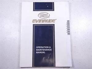 1987 Johnson Evinrude 30 Hp Models Owner U2019s Manual