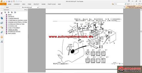 takeuchi excavator tb parts manual auto repair manual forum heavy equipment forums
