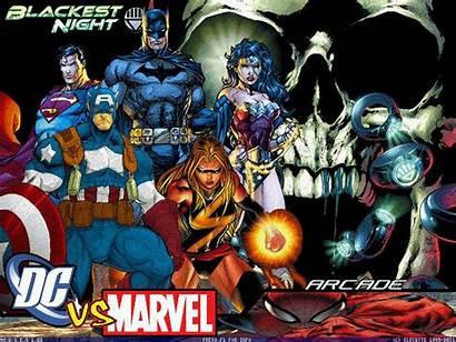Marvel Dc Screenpack Night Blackest Mugen Games