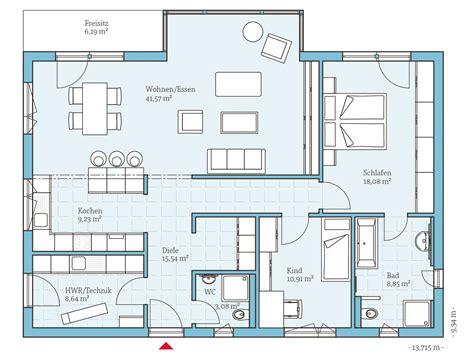 Grundriss Rechteckiges Haus by Bungalow Bauen Alle Infos Zu Preisen H 228 Usern Und Anbietern