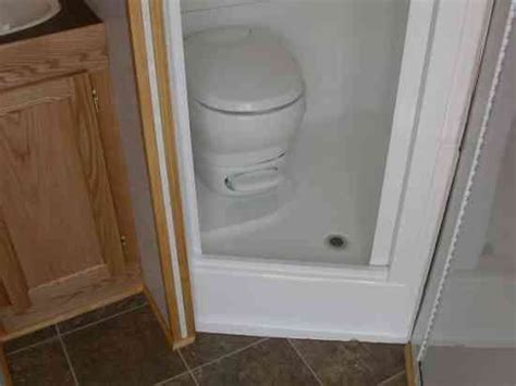 shower toilet combo rv shower toilet combo kit rv toilet shower sink combination http www doubledtrailers com