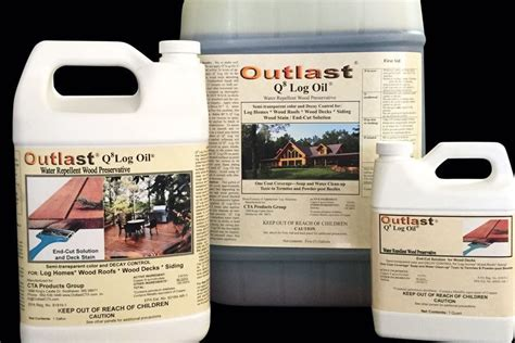 outlast  log oil professional deck builder finishes