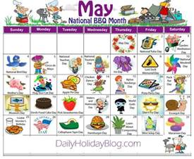 your free may daily holidays calendar stuff from the sitcom