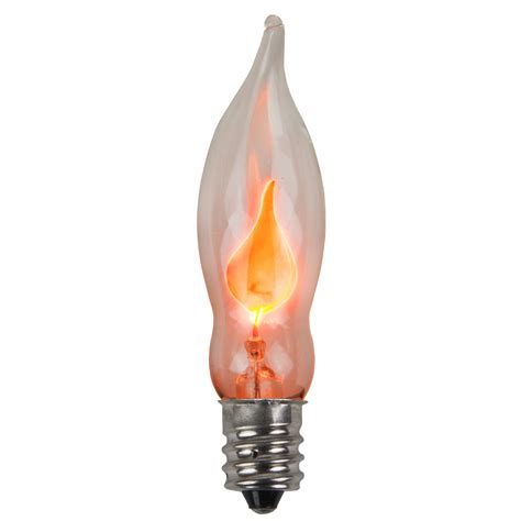 c7 christmas light bulb c7 flicker flame clear christmas