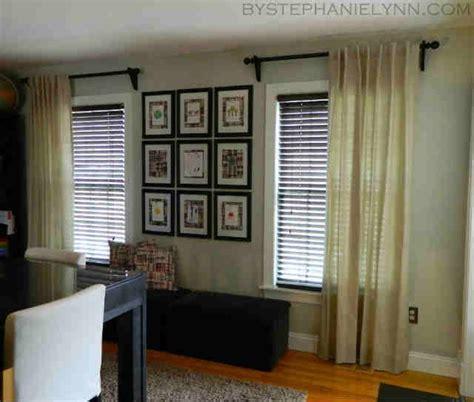 one curtain per window decorating