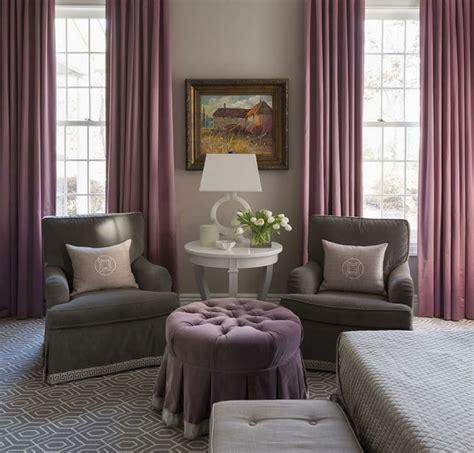 chambre mauve et gris 1001 idées pour la décoration d 39 une chambre gris et violet