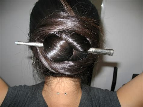hair stick styles hair sticks braided hair and braided updo on 1693