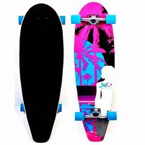 Cruiser Skateboard Trucks : xq max longboard cruiser long skate board skateboard beach ~ Jslefanu.com Haus und Dekorationen
