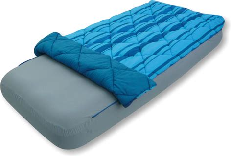 sleeping bag with air mattress sleeping bag air bed cover single s s