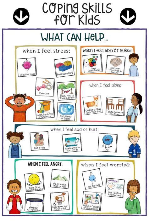 kids coping skills stress management  regulation