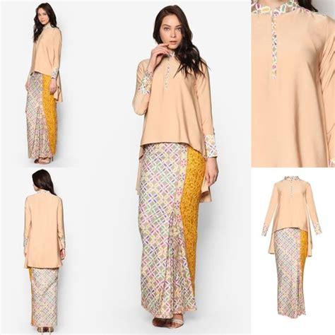 baju kurung moden kain songket fesyen trend terkini baju