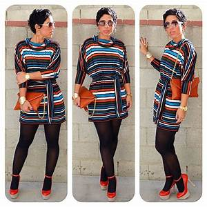 DIY Striped Dress Pattern Vtements Pinterest Mode