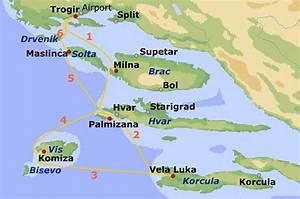 Seemeilen Berechnen Karte : yachtcharter kroatien segeltoern ab trogir ~ Themetempest.com Abrechnung
