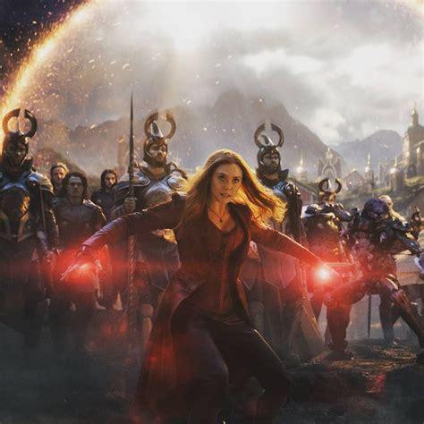 wandavision avengers marvel endgame witch wanda scarlet maximoff vision female characters olsen elizabeth instagram comics