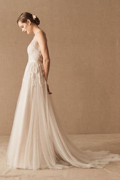 Reagan Gown Porcelain In Bride Bhldn
