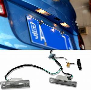Car Rear Trunk Switch Assembly  U0026 License Plate Lamp Light For Chevrolet Cruze