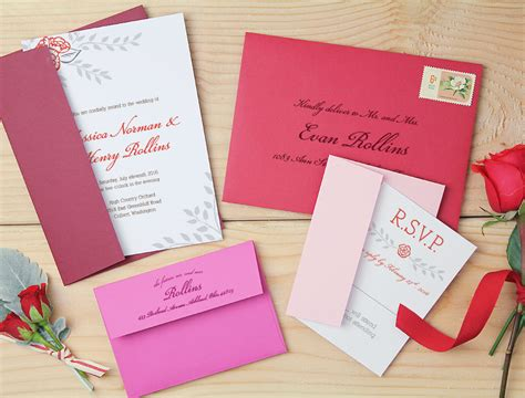 Custom Wedding Invitations Designed Online With Basic