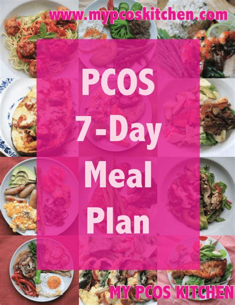 pcos  day meal plan  pcos kitchen