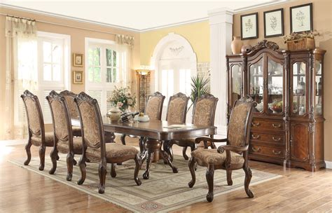 english country dining furniture double pedestal dining