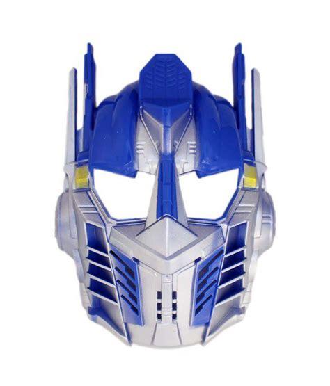 tootpado optimus prime transformer mask superhero face