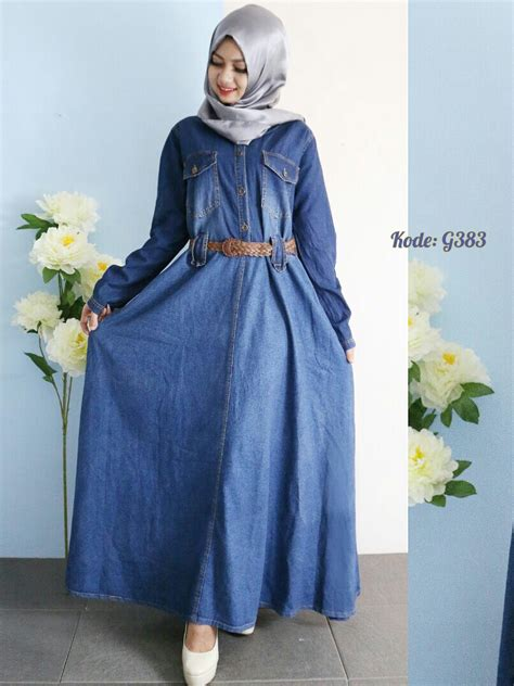 dress payung polkadot gamis payung with belt g383 baju style ootd