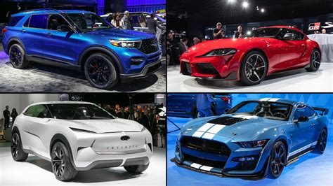 Motor Show 2019 : Best Cars Of The 2019 Detroit Auto Show