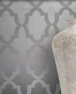Tapeten Schlafzimmer Grau : tapete goldencut grau aus der sahara kollektion ~ Markanthonyermac.com Haus und Dekorationen