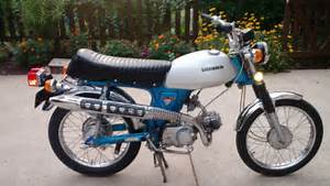 Honda Cl70 K2 1972 Restored Using Nos Honda Genuine Parts